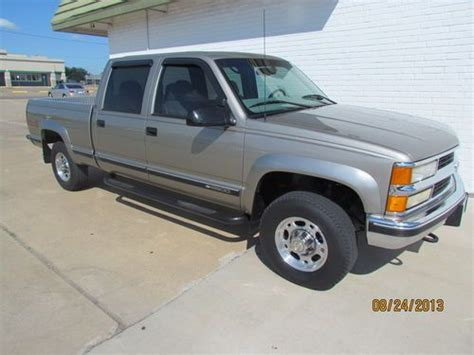 automotive air conditioning repair 2000 chevrolet 2500 transmission control buy used 2000 chevrolet c k crewcab 2500 4x4 texas low low miles mint condition in waco