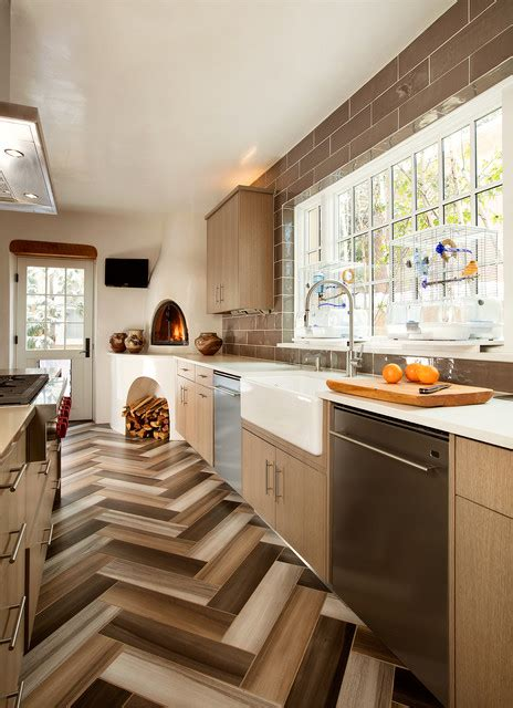 warm southwestern style kitchen interiors youre   adore