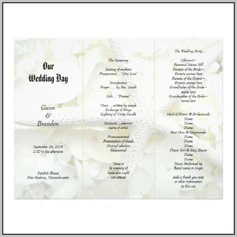 Each Wedding Program Templates Template Resume Exles Bqdx8gndpy Blank Wedding Program Template