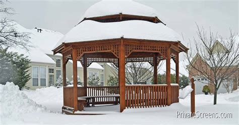 gazebo in your 7 ways to stay warm and toasty in your gazebo this winter