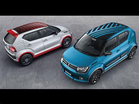 List Kaca Sing Suzuki Ignis 2017 maruti suzuki ignis accessories list drivespark news