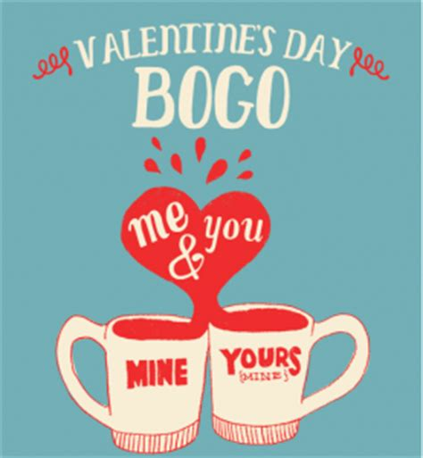 valentines day coffee drinks bogo caribou coffee drinks on s day