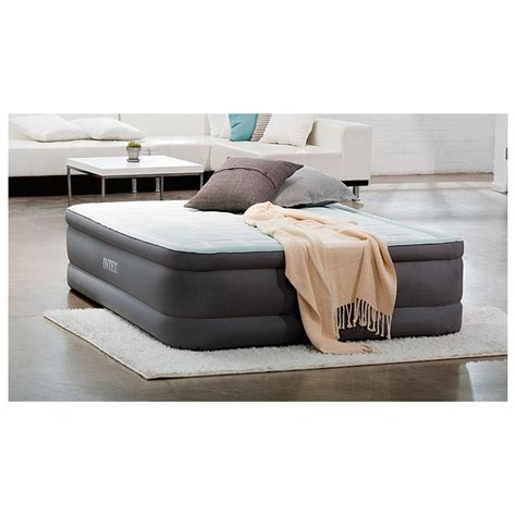 intex bed intex queen premaire elevated air bed 623213 air beds