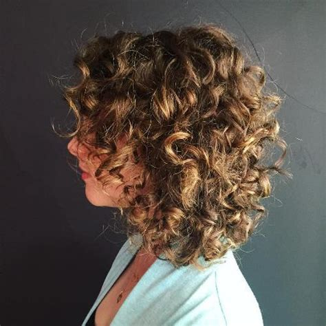 stacked in back brown curly hair pics 50 different versions of curly bob hairstyle
