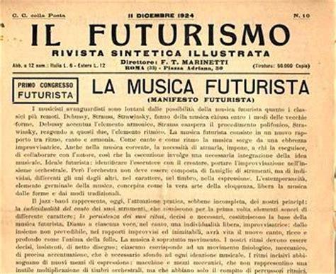 il manifesto del libero 8804674016 il linguaggio della musica come rottura dal passato e dalla tradizione la musica futurista