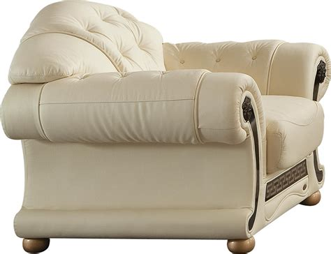 versace leather sofa versace ivory sofa versace esf furniture leather sofas at