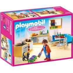 playmobil 5336 cuisine avec coin repas achat vente