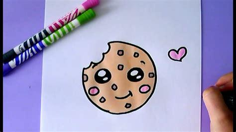 desenho faceis desenhos faceis de fazer como desenhar cookie fofo