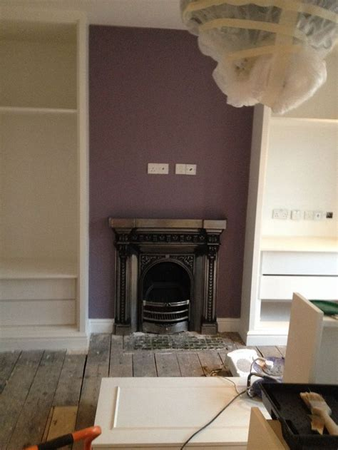 farrow ball brassica feature wall master bedroom