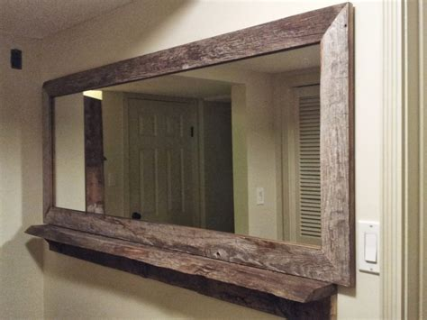 entry way mirror knotty kreations custom wood designs kamloops bc