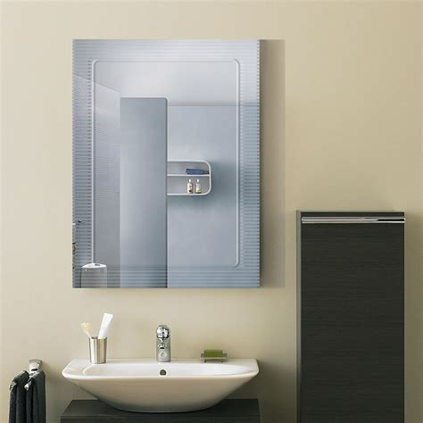 18 x 24 bathroom mirror 24 x 18 in wall mounted rectangle bathroom mirror dk od