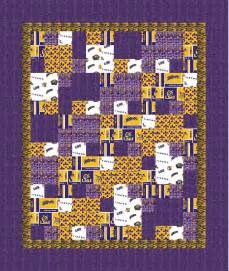 Lsu Quilt by Here S A Great Day Project Easy One A Lsu