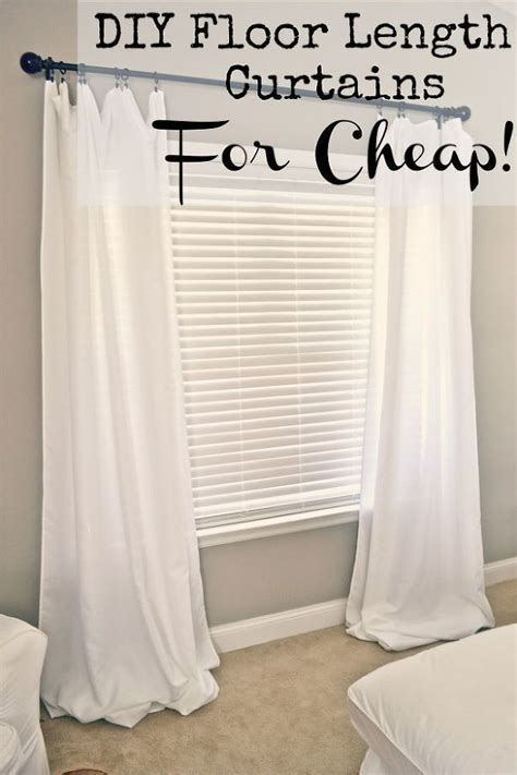 how to make curtains from sheets quick and easy best 25 cheap window treatments ideas on pinterest old