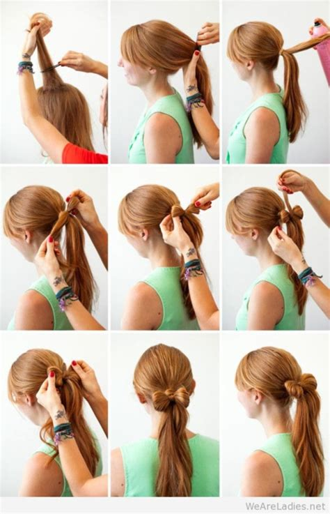 easy hairstyles do them 35 very easy hairstyles to do in just 5 minutes or less