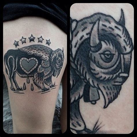 watercolor tattoos okc best 25 buffalo ideas on bison