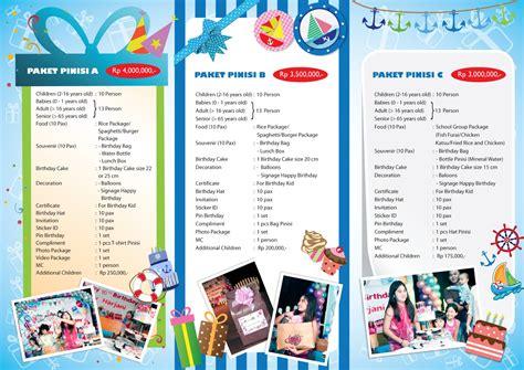 Paket Ultah Anak 2 pinisi edutainment park paket ulang tahun pinisi