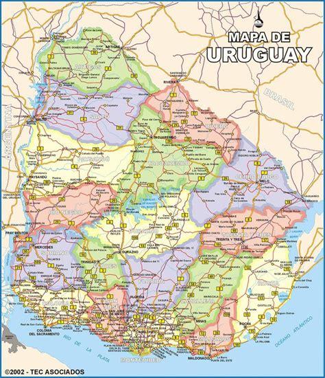 imagenes satelital del uruguay descargar mapa politico de uruguay mapas pinterest