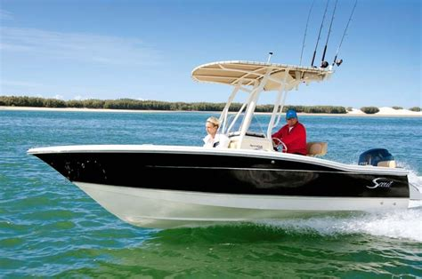 scout boats boat test scout boats 195 sportfish review trade boats australia