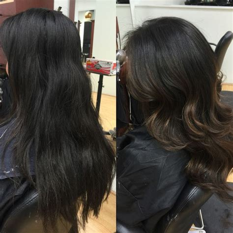 dark hair after 70 1000 images about hair on pinterest balayage black