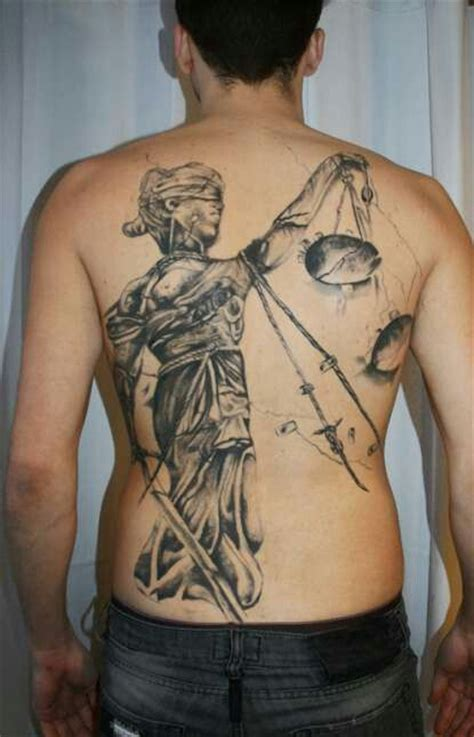 back tattoo justice 23 nice blind justice tattoo