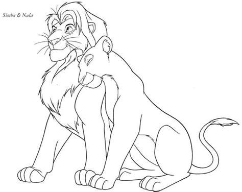 lion king coloring pages simba and nala lion king coloring pages lion king coloring pages simba