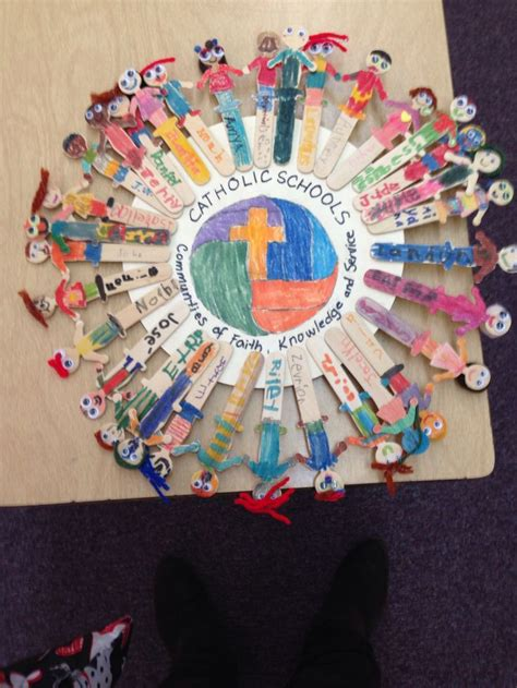 catholic craft projects 13 best catholic schools week images on school