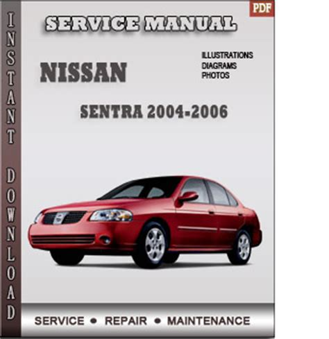 auto repair manual free download 2004 nissan sentra spare parts catalogs 2004 2005 2006 nissan sentra b15 service repair manual