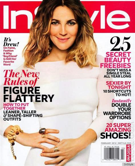 February It Drew Barrymore by Drew Barrymore Photoshop Mess On February 2012 Instyle