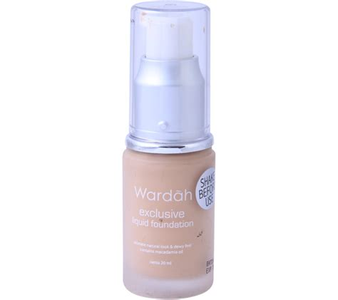 Jual Wardah Foundation Exclusive by Wardah Exclusive Liqiud Foundation Faces