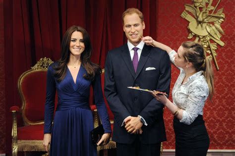 Wax Kate Unveiled by Kate Middleton S Waxwork Unveiled At S Madame