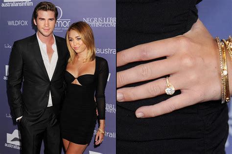 see the engagement ring liam hemsworth gave miley cyrus