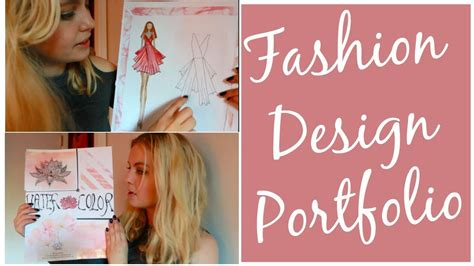 fashion design maker how to how to make a fashion design portfolio for college