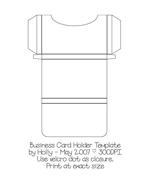 business card holder template i ll try to do with