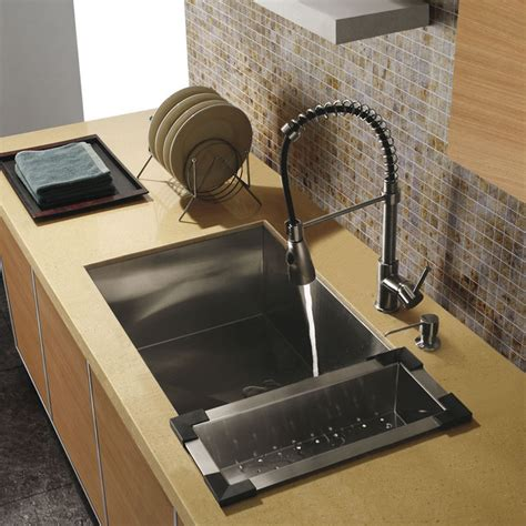 vigo platinum series undermount kitchen sink faucet