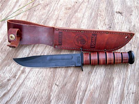 ka bar usmc utility knife best fixed blade survival knife for the money best