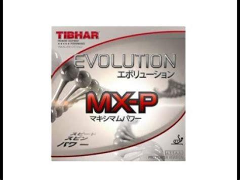 Tibhar Evolution Mx P 2 1mm Black エボリューションmx p tibhar ペンドラのためのテンションラバー videolike