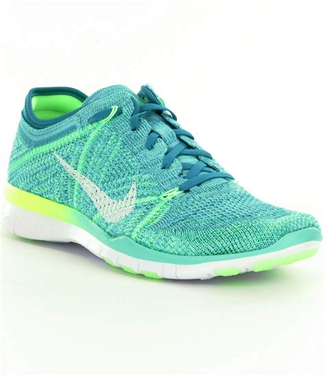 nike knit fit shoes lyst nike free 5 0 tr fit 5 flyknit shoes in blue