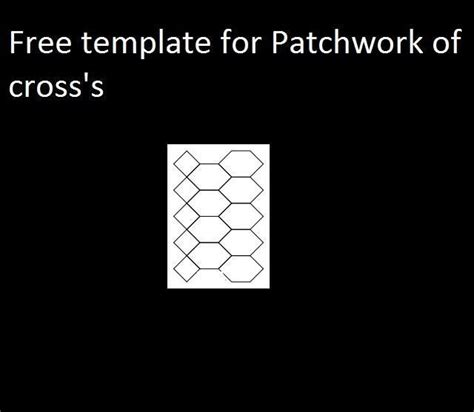 Patchwork Of The Crosses Template - patchwork of the crosses template 28 images sew and