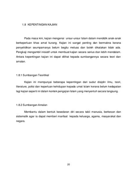 format laporan gaya ukm tesis mama zura