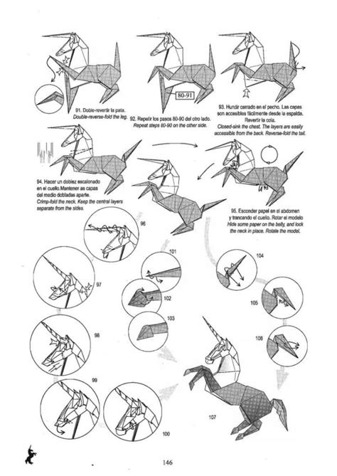free coloring pages unicorn origami do origami origami