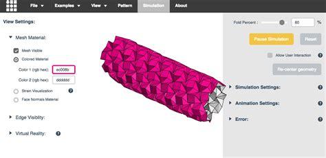 Origami Simulator - sitio d 237 a un simulador digital para hacer origami