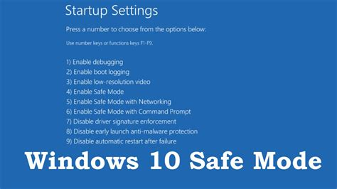 how to boot into safe mode on windows 10 3 ways doovi