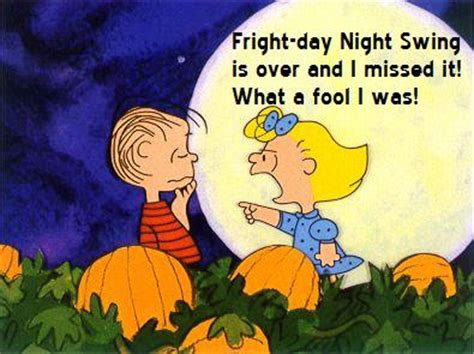 A Day S Fright friday swing it s fright day swing brown