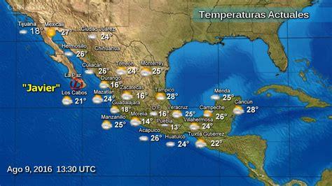 imagenes satelitales del clima mapa del clima m 233 xico wipy
