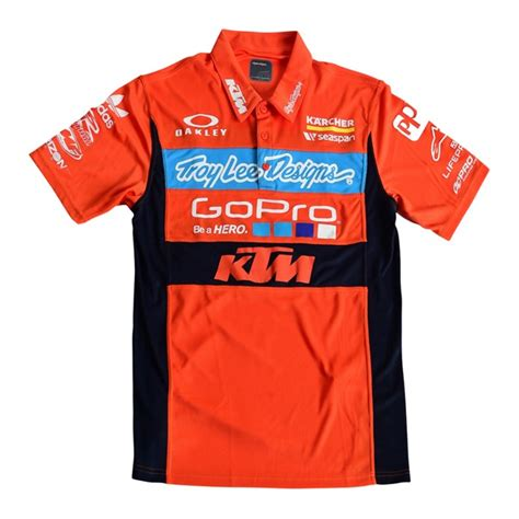 Pit Shirt 46 Asia 1 ktm tld factory team pit shirt cheap cycle parts
