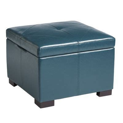 teal storage ottoman chelsea storage ottoman teal living room pinterest