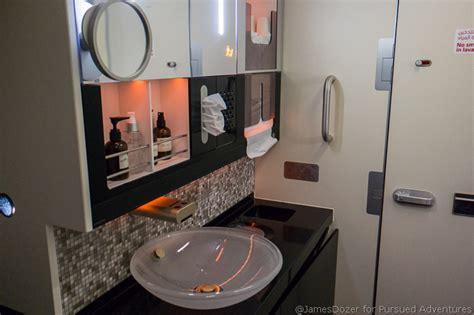 etihad first class bathroom review etihad a380 first class apartment abu dhabi to