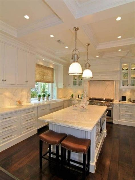 kitchen overhead lighting ideas 17 best images about kitchen ceiling lights on pinterest