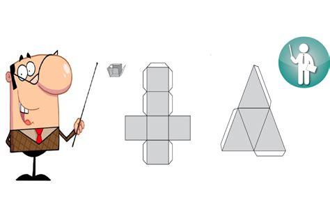 imagenes geometricas para armar cuerpos geom 233 tricos para armar moldes para imprimir
