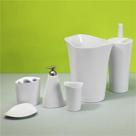 umbra bathroom accessories umbra orvino bath accessories set now at